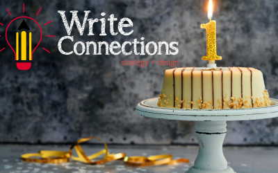 Celebrating One Year of Making the Write Connections